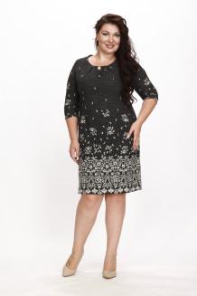 Платье Джустина (принт с люрексом)