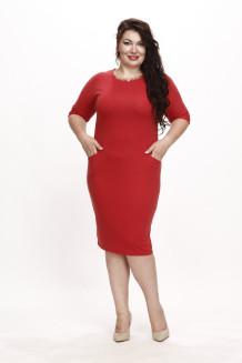 Платье Мессина (томат)