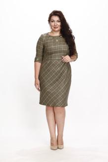 Платье Вулкано (зеленая лапка)