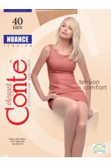 Колготки женские CONTE Nuance 40 den (bronz)