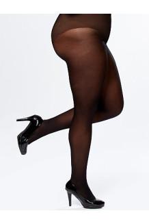 Колготки женские Plus size 50 den (черный)