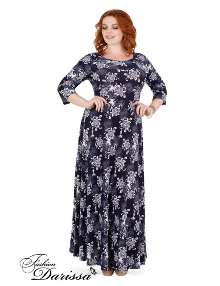 Платье Шанель Ш019 (синий)
